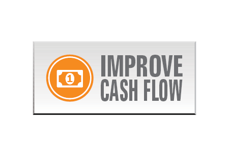 improve cash flow icon