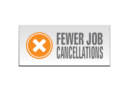 reduce cancellations icon